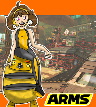 ARMS - Mechanica (FanArt) by Gio-Nyaustar