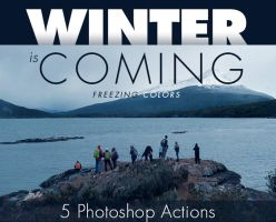 Winter is Coming Photoshop Actions by leohernan