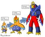 Torchic/Piplup fusion by Brian12