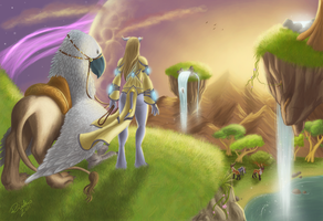 Into the Nagrand by riikozor