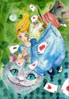 Alice in Wonderland by Ines92