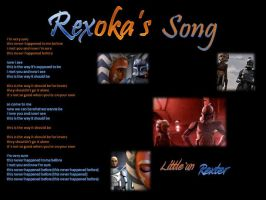 Ahsoka  Rex song by jennamimi