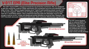 V-91T Elite Precision Rifle by OutFoxedTW