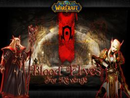 Blood Elves wallpaper by Scarlet-Argent