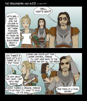 The Dragonborn has A.D.D. by AshleyKayley