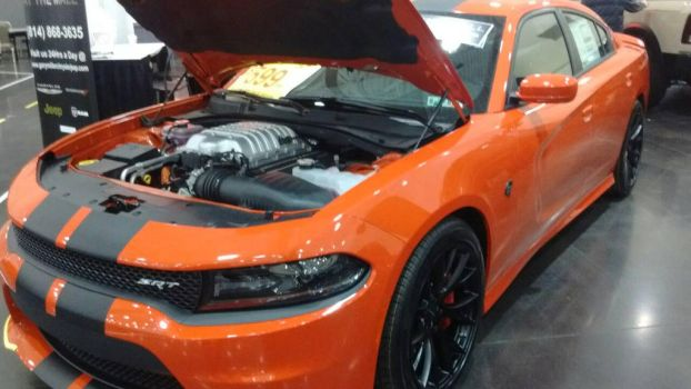 2016 Dodge Charger SRT Hellcat. by Shiplover444