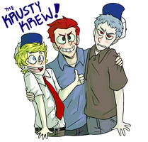 The Krusty Krew! by NEOmi-triX