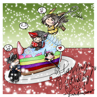 Happy LATE birthday to Dei! 2012 by Yorulla