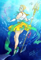 Aqua Magic Lady Man by Cocoz42