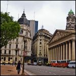 Buenos Aires Square by hesitation