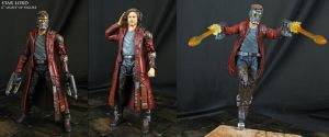 Custom Star Lord Guardians of the Galaxy figure by Jin-Saotome