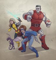 colossus shadowcat magik by jimmymcwicked