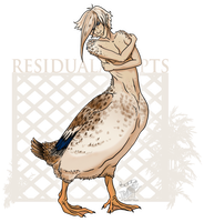 Ducktaur [Auction: Closed] by ResidualAdopts