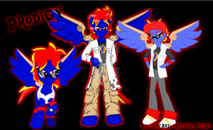 Prodigy's Different Looks by Yami-Sonic