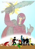 What if...Magneto weilds the Infinity Sword? by Shellquake