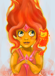 Flame Princess by monkette