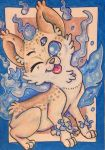 ACEO: Wink by DanielleMWilliams