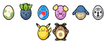 The Easter Eggs 2015 by Yoriden