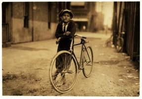 Newsboy- 1913 by Step-in-Time-Stock