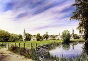 Stamford Meadows Lincs by jamesgreen