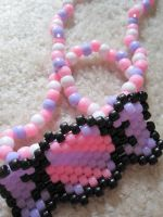 Kandi candy necklace by CompulsiveColorer
