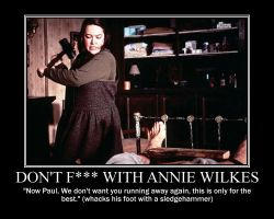 Don't F--- with Annie Wilkes by Volts48