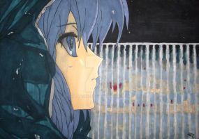 Yuki Nagato (The Disappearance of Haruhi Suzumiya) by Waaaghzag