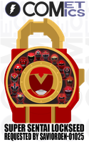 Request: Fan Lock - Super Sentai Lockseed by CometComics