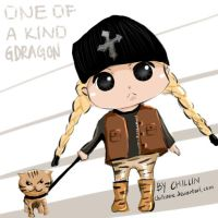 One of a kind G-Dragon (chibi) by chillua