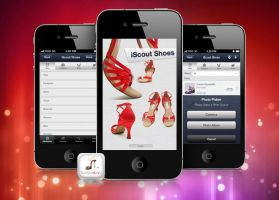 iPhone shoes by amitrai10