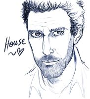 Dr House - digital by floangel