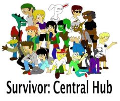 Survivor: Central Hub Cast by SSBFreak