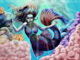 Mermaid by MotherOfArt