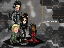 Chibi BB Corps by Skunk-Works