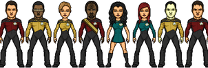 Star Trek TNG Reboot S1 by SpiderTrekfan616