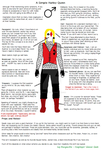 Almost Animated (Male) Harley Quinn Concept by Ivy-Morganthe