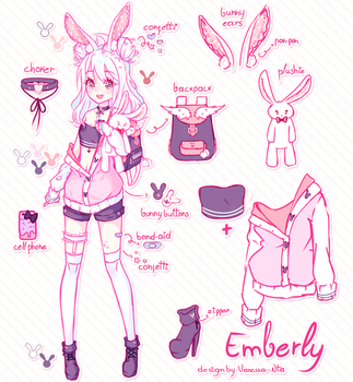 [Speedpaint] CM | Emberly by Nita--Chan
