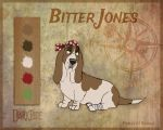 Bitter Jones - Character Sheet by Skailla