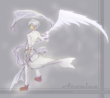 Art trade : Aeonian by whitmoon