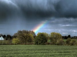 Bad weather approaching No3 HDR by Risen-From-The-Ruins