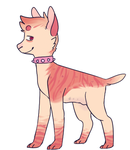 Punk pup adopt OPEN by Fox-mutts
