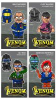 Charicatures Venom Tradingcards Set1 by njelspam