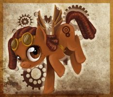 Steampunk Pony - Auction (CLOSED) by tite-pao
