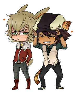 :Tiger:And:Bunny:ROAR: by KaiSuki