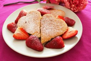 Valentine's Day Breakfast by MerenwenTheBeautiful