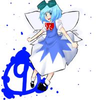 HAPPY -late- CIRNO DAY by Uri-Loves-Cookies