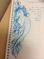 Hippocampus Doodle by Scutterland