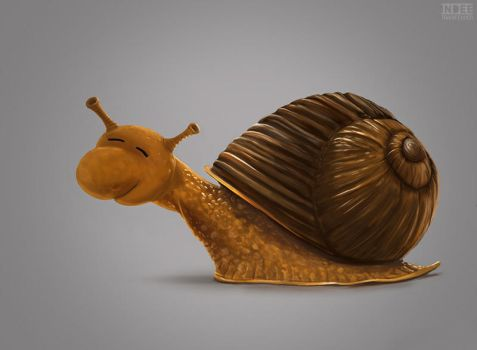 snail by trainfender