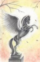The angel that never made it.. by In-The-Distance