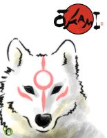 okami face by arktiari